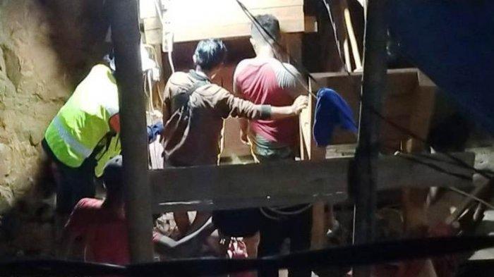 Warga Pandeglang Tertimbun Lubang Sedalam 28 Meter di Babel, Keluarga Kehilangan Kontak