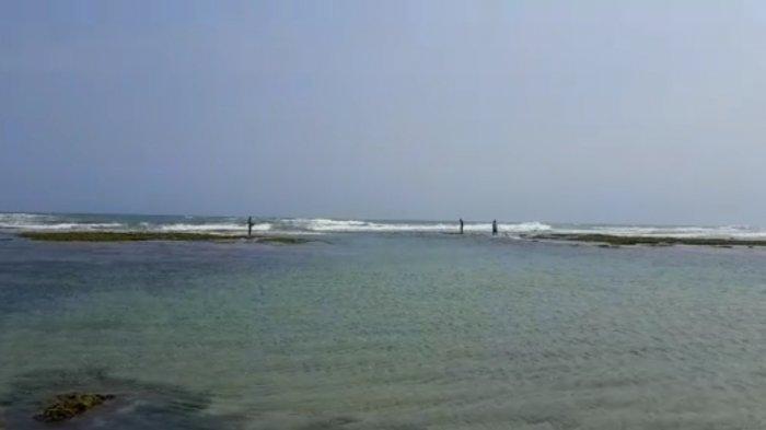 Paman-Keponakan Asal Minahasa Tenggelam Terseret Ombak di Pantai Kalapa Warna Lebak, Istri Teriak