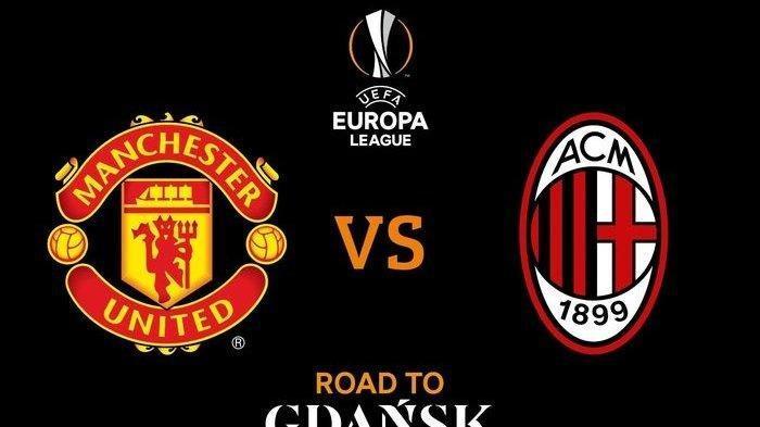 Hasil Liga Europa: Manchester United 1-1 Milan, Gol Telat Kjaer Selamatkan Rosonerri di Old Trafford