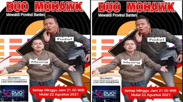 Duo Mohawk, Pelawak Asal Banten Masuk 24 Besar dalam Program Duo Komedian di Global TV