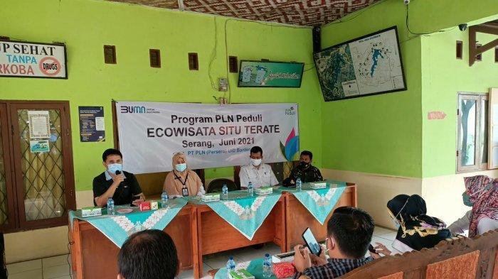 PLN Peduli Berikan Bantuan untuk Pengembangan Ecowisata Situterate Cikande Kabupaten Serang