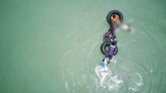 Wisatawan Terseret Ombak Pantai Cibobos Lebak Ditemukan Mengapung di Tengah Laut, Hilang Sejak Jumat