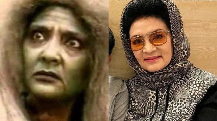 Farida Pasha 'Mak Lampir' Meninggal Dunia Diduga Terserang Covid-19, Ini Kiprahnya di Film Horor