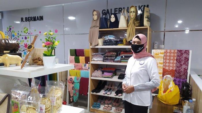 Fasilitas galeri UMKM di gedung Mall Pelayanan Publik (MPP) Pandeglang.