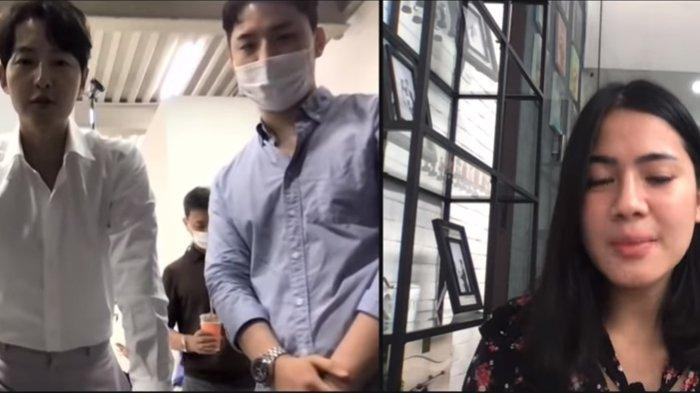 Ngidam Terkabul, Felicya Histeris Video Call bareng Aktor Korea Song Joong Ki, Ini yang Dibicarakan