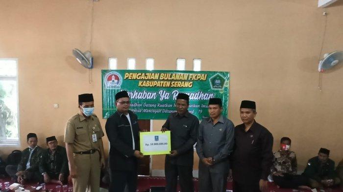 Forum Komunikasi Penyuluh Agama Islam Kabupaten Serang Dapat Bantuan Dana Operasional