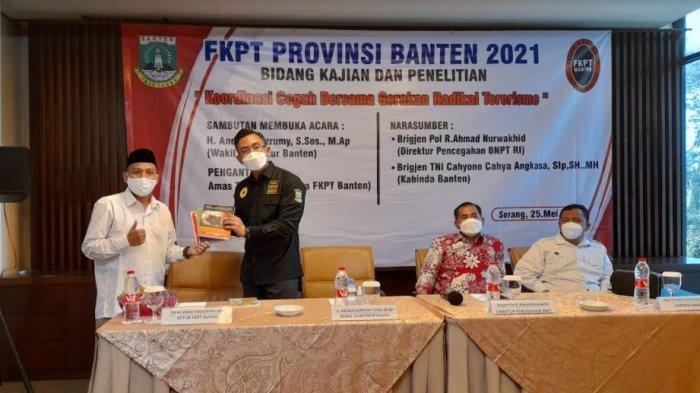 FKPT Banten Gelar Rapat Koordinasi Cegah Gerakan Radikalisme dan Terorisme