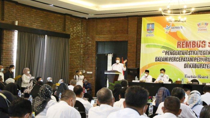 10 Desa di Kabupaten Serang Ditetapkan Lokus Stunting 2021, Wabup Pandji: Target Zero Stunting