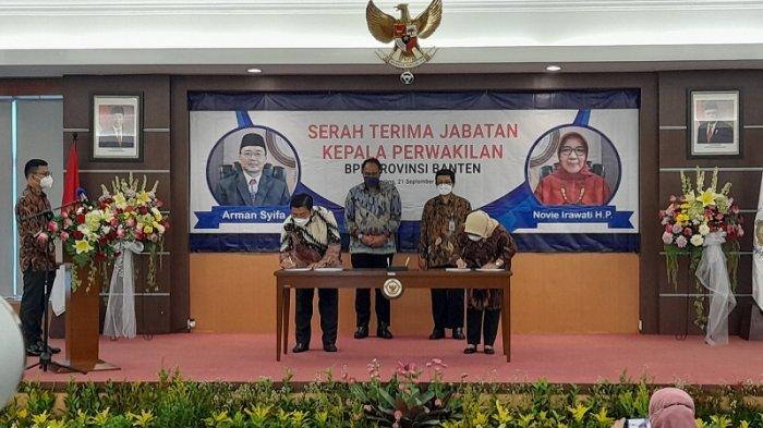 Novie Irawati Herni Purnama Resmi Jabat Kepala Perwakilan BPK Provinsi Banten