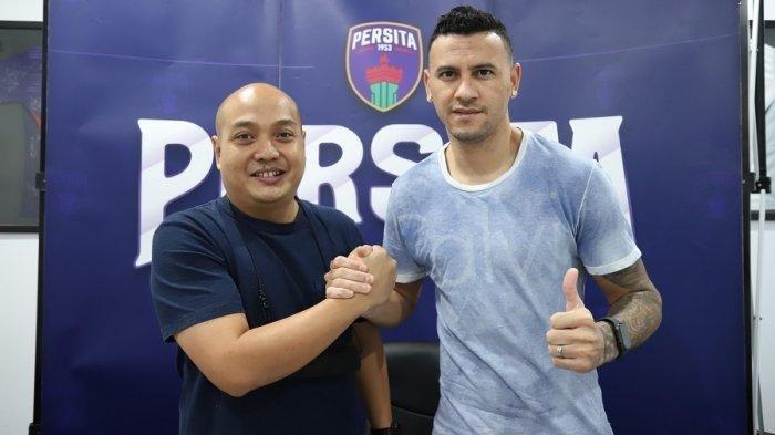 Persita Tangerang Resmi Datangkan Striker Haus Gol asal Brasil Alex Goncalves