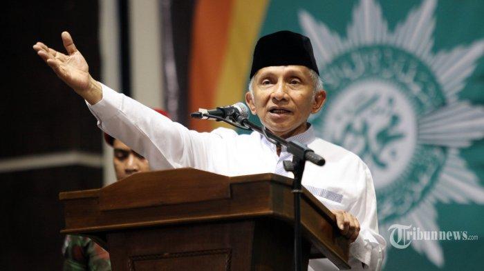 Usai Bertemu di Istana Negara, Amien Rais Curiga Ada Skenario Jabatan Presiden Jokowi 3 Periode