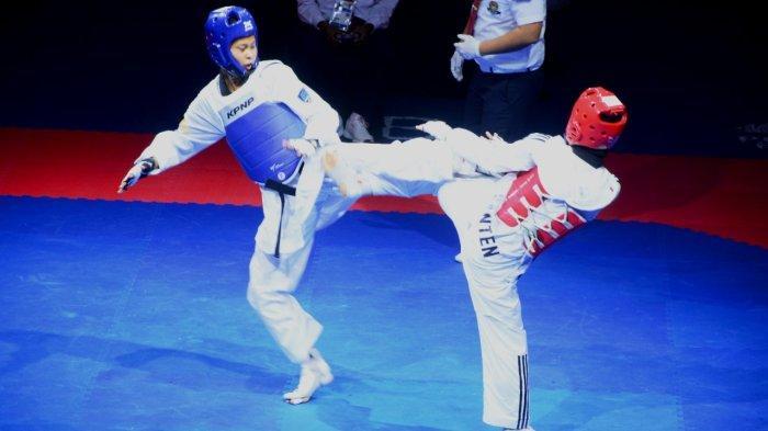 Bawa Pulang Tiga Medali, Tim Taekwondo Banten Perbaiki Prestasi di PON XX Papua