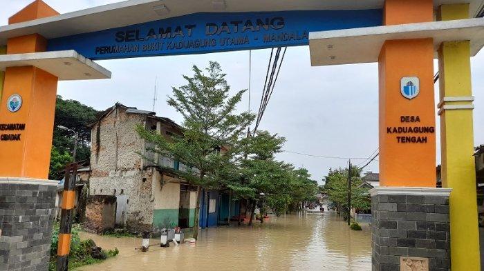 Wilayah Padat Penduduk dan Jalan di Kabupaten Lebak Terendam Banjir, Warga Mengungsi