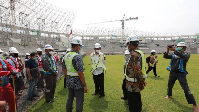 Upaya Pencegahan Korupsi, KPK Tinjau Banten Internasional Stadium