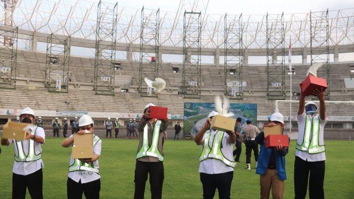 Melihat Pembangunan Stadion Kelas Dunia di Kota Serang, Banten International Stadium Rampung 2022