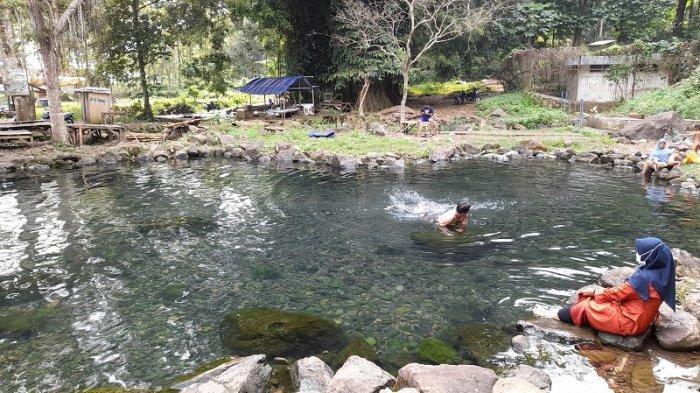 Destinasi Wisata Pemandian Cirahab Kabupaten Serang, Airnya Bening Seperti Kaca, Ada Kolam Hati