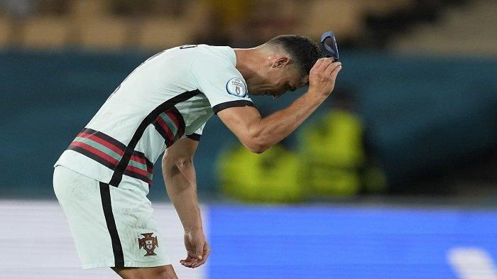 Hasil Euro 2020: Timnas Portugal Kandas di 16 Besar, Cristiano Ronaldo Pulang Bawa Segudang Rekor