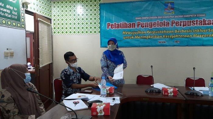 Gelar Pelatihan Kepustakawanan di Tingkat Desa, DPKD Kabupaten Serang Dorong Peningkatan Minat Baca