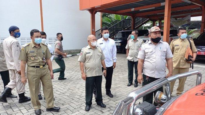 Intip Gaya Berpakaian Sederhana Wakil Wali Kota Cilegon Saat Sidak Kesiapsiagaan Bencana