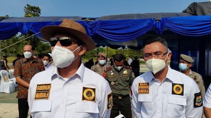Tinjau Pembangunan Jalan di Pandeglang, Gubernur WH: Jangan Sakiti Rakyat dengan Jalan Rusak