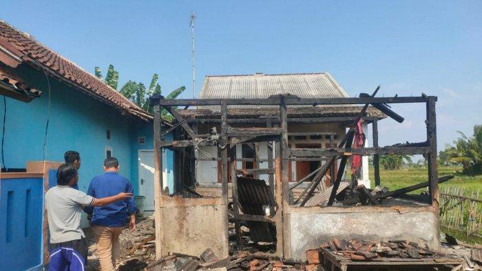 Ditinggal Penghuni, Satu Unit Rumah di Kampung Bendo Hangus Terbakar