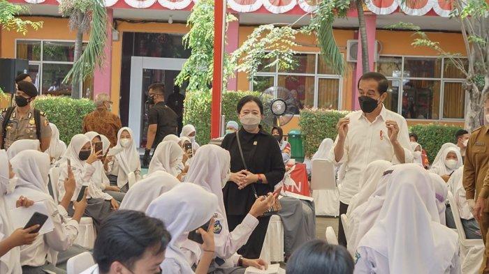 Cerita Intan, Pelajar SMAN 4 Kota Serang Dapat Sepeda dari Jokowi Gara-gara Jawab Pertanyaan