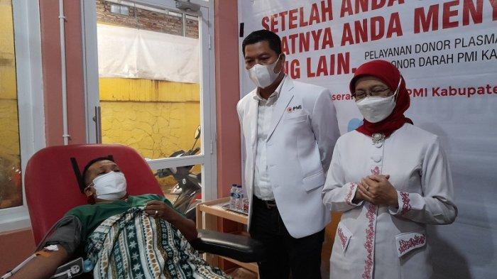 RESMI UDD PMI Kabupaten Serang Layani Donor Plasma Konvalesen