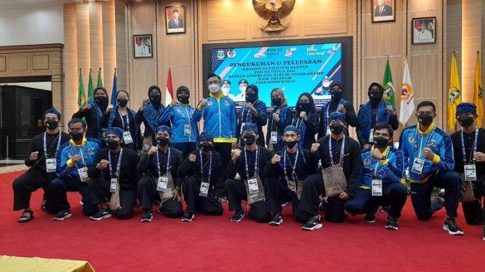 Demi Target 10 Besar, Wagub Andika Dampingi Kontingen Banten di PON XX Papua