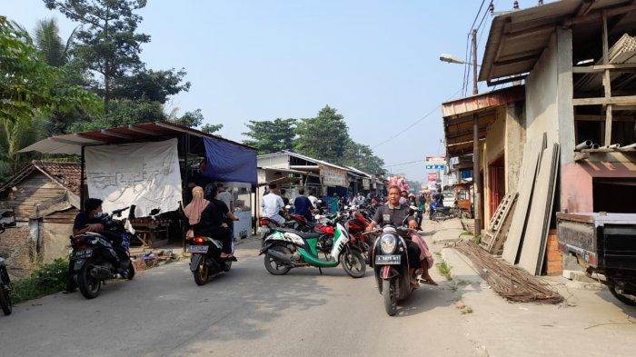 Pasar Pamarayan Ramai Jelang Hari Raya Idul Adha, Warga Abai Prokes