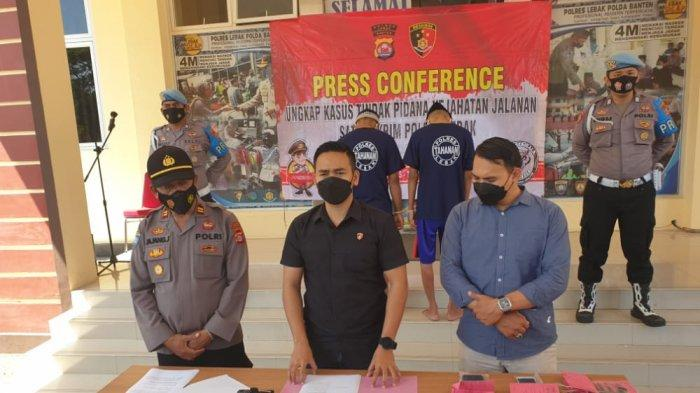 Polres Lebak Ungkap Kasus Pencurian Kayu di Lahan Perhutani, Oknum BPD Mekarwangi Terlibat