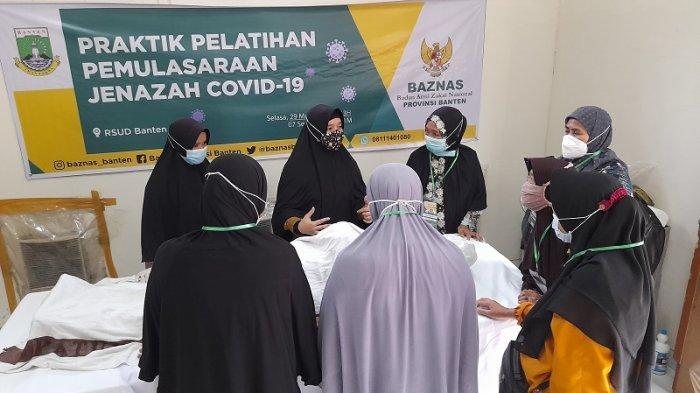 Dibekali Materi Oleh Baznas, Kini RSUD Banten Pede Lakukan Pemulasaran Jenazah Covid-19