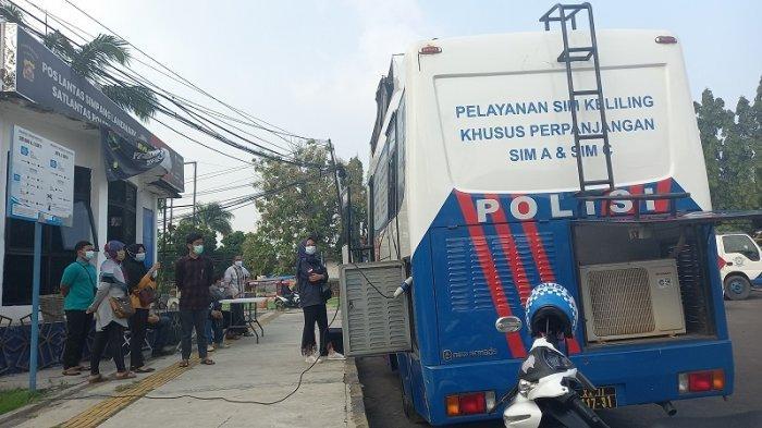 Info Pelayanan SIM Keliling di Provinsi Banten 2021: Setiap Hari Jumat di Landmark Kota Cilegon