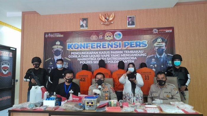 Rumah Produksi Tembakau Gorila di Serang Digerebek, Omzet Jutaan Rupiah