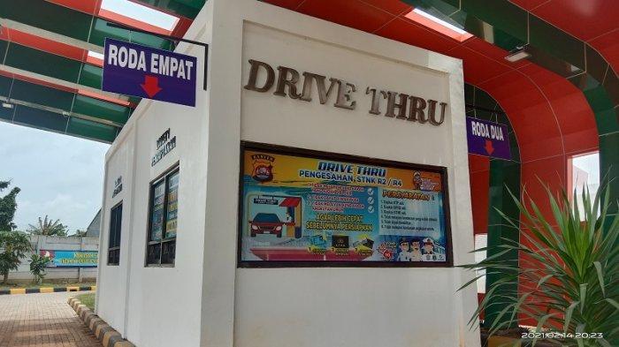 Samsat Cikande Layani Drive Thru Pengendara Bermotor, Berikut Prosedur Bayar Pajak Kendaraan