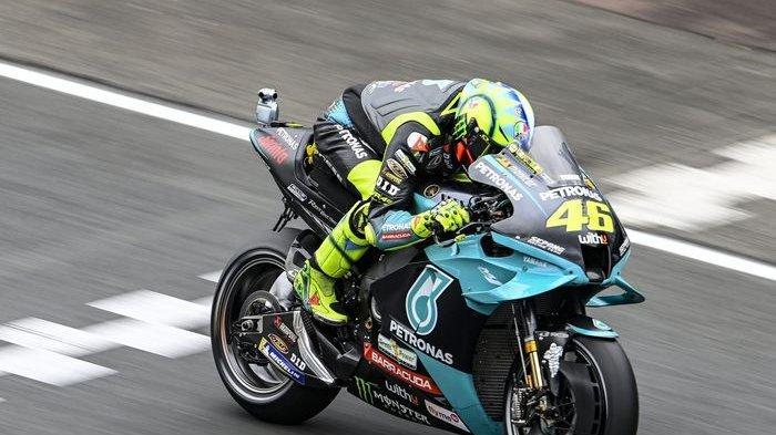 Valentino Rossi Terpental Keluar Lintasan, Motornya Ringsek, Ini Hasil Balapan MotoGP Belanda 2021