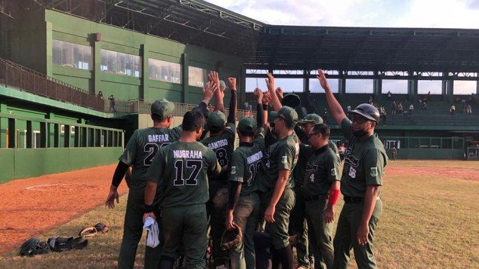 Kalahkan Tim Calon Kuat Juara, Tim Baseball Putra Banten Tembus ke Semifinal PON XX Papua