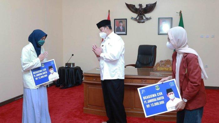 Komitmen Bangun SDM, Wahidin Halim Jamin Pelajar di Banten Tempuh Pendidikan Hingga Perguruan Tinggi