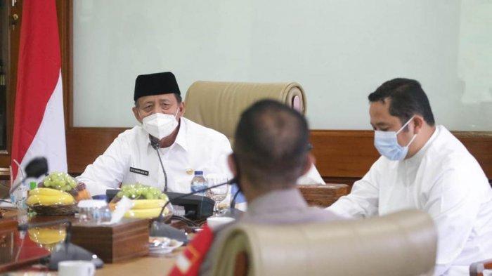 Gubernur Wahidin Halim Maksimalkan Sinkronisasi Data dalam Penanganan Covid-19 di Banten
