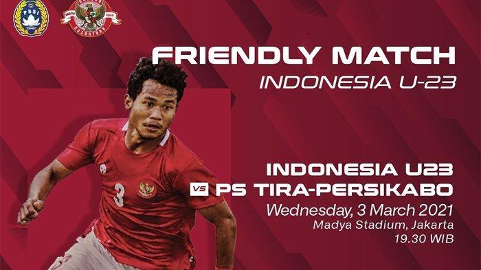 Timnas U23 Indonesia Vs Tira Persikabo Batal, Warganet Riuh : Prank of The Year