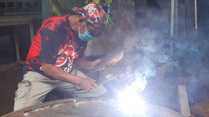 Mantan Wali Kota Solo FX Hadi Rudyatmo Kembali Jadi Tukang Las, Hobi yang Ditekuninya Sejak 1987