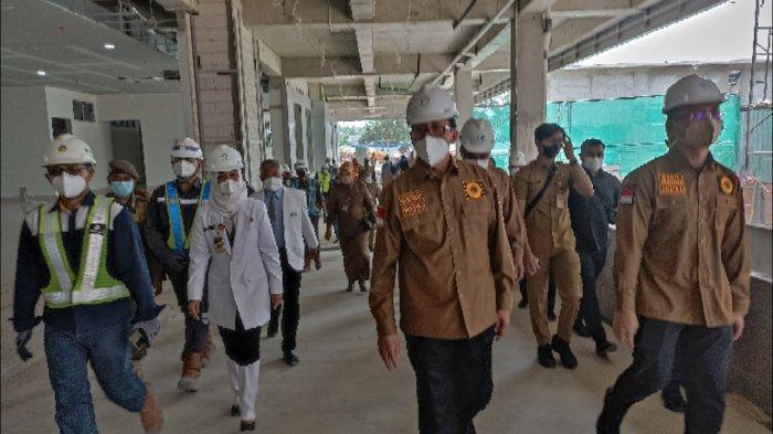 Gedung Baru 8 Lantai di RSUD Banten Ditargetkan Rampung Desember, Akan Dipakai Untuk Pasien Kelas 3
