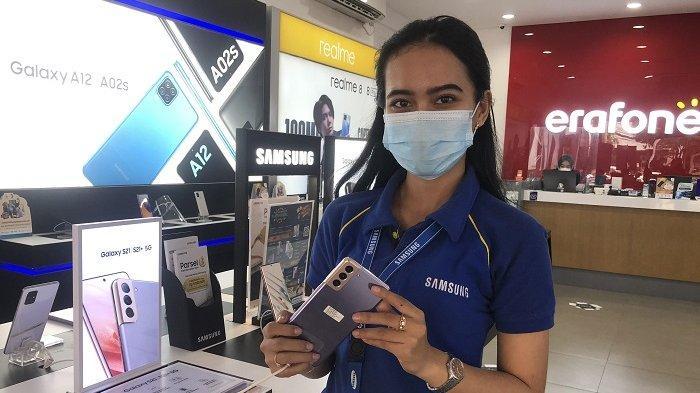Penjualan HP di Serang Meningkat Jelang Lebaran, Samsung Galaxy New A Series Paling Diminati