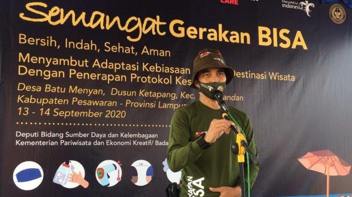 Kemenparekraf meluncurkan gerakan Bersih, Indah, Sehat, dan Aman (BISA).