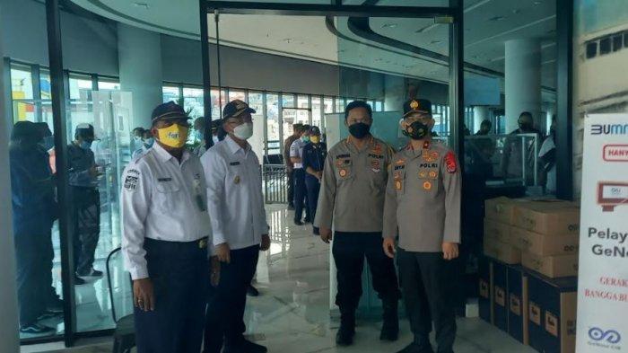 Wakapolda dan Wagub Banten Pantau Pelabuhan Merak H-1 Menjelang Pelarangan Mudik