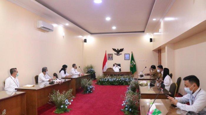 Sosialisasikan Stimulus Listrik, PLN UID Banten Beraudiensi dengan Gubernur Banten