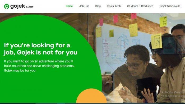 Lowongan Kerja Banten Juli 2021, Gojek Indonesia Buka Sejumlah Posisi, Ini Syarat dan Link Daftarnya
