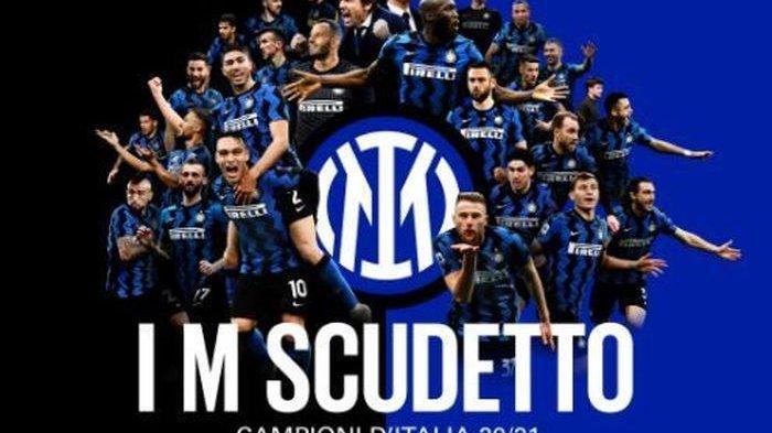 Hasil Liga Italia: Inter Milan Raih Scudetto, Runtuhkan Kejayaan 9 Tahun Juventus
