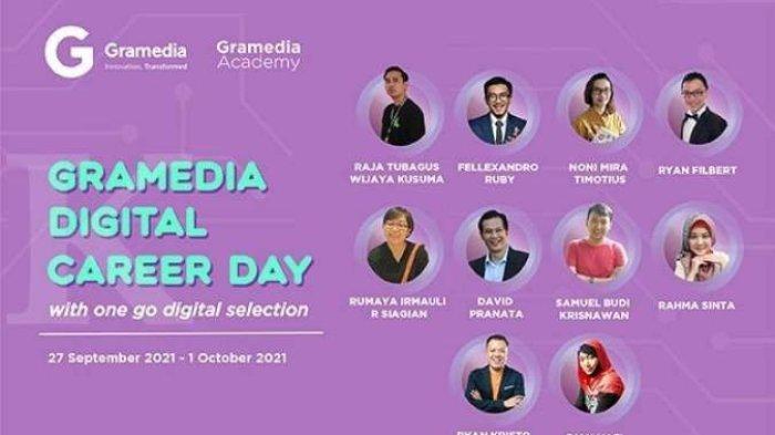 Segera Gabung! Lowongan Pekerjaan Talenta Terbaik Indonesia di Gramedia Digital Career Day