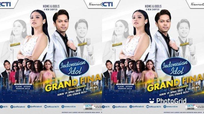 SEDANG BERLANGSUNG Live Streaming Grand Final Indonesian Idol, Mark dan Rimar Collabs Dengan Musisi