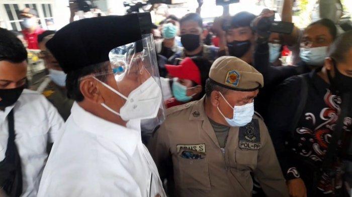 Vaksinasi Covid-19 di Pendopo Kabupaten Tangerang Sempat Ricuh, ini Kronologinya